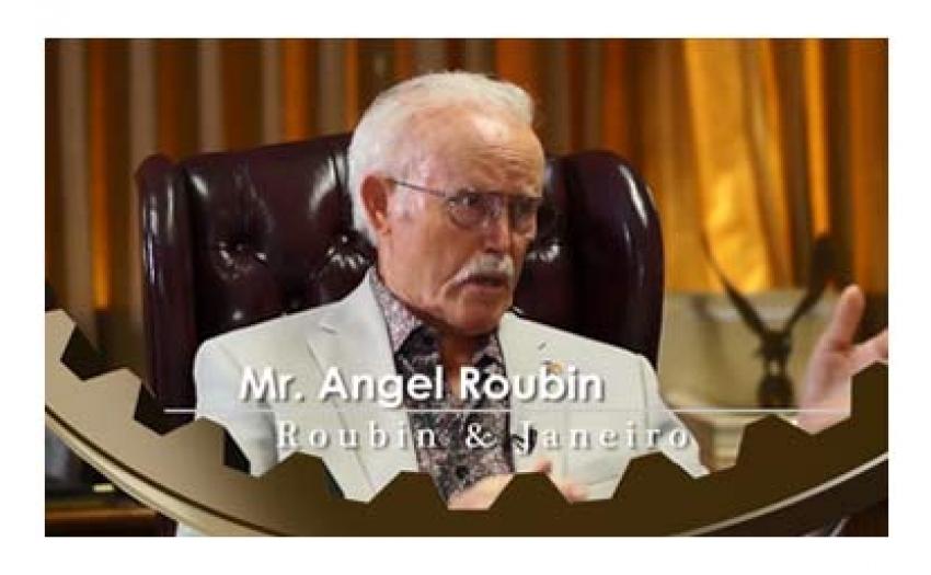 Mr Angel Roubin - Roubin & Janeiro - INTERVIEW