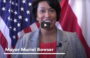 Metro DCHCA Mayor Muriel Bowser video